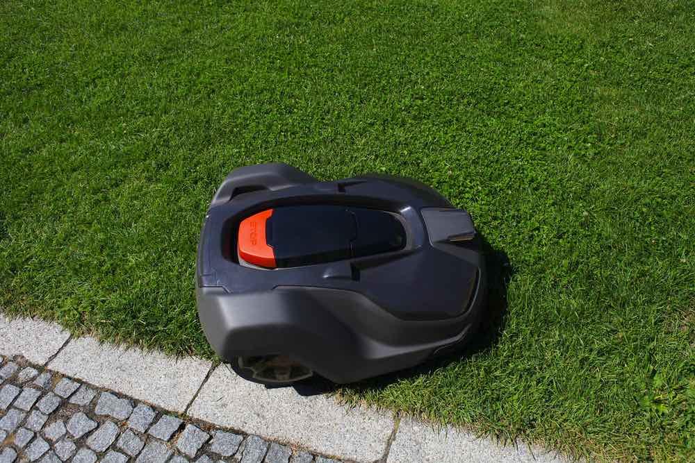 Grenzen voor robot grasmaaier instellen