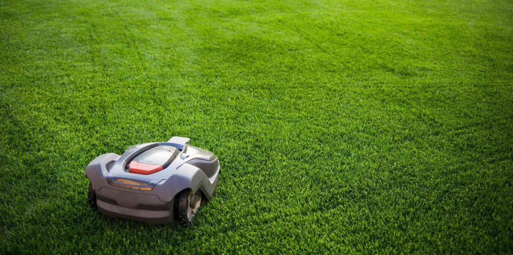 Robotmaaier voor grote tuin